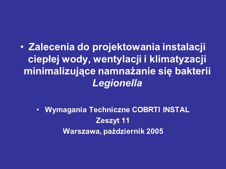 Wymagania Techniczne COBRTI INSTAL