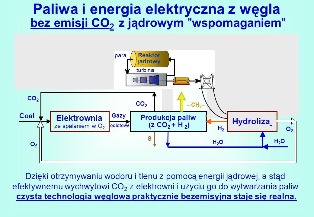 Paliwa i energia elektryczna z węgla