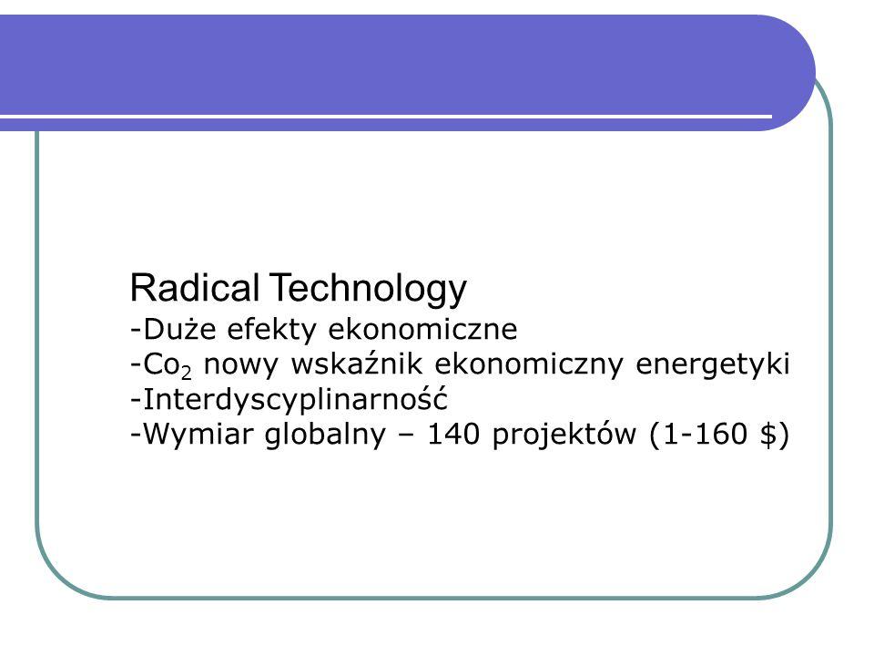 Radical Technology Duże efekty ekonomiczne