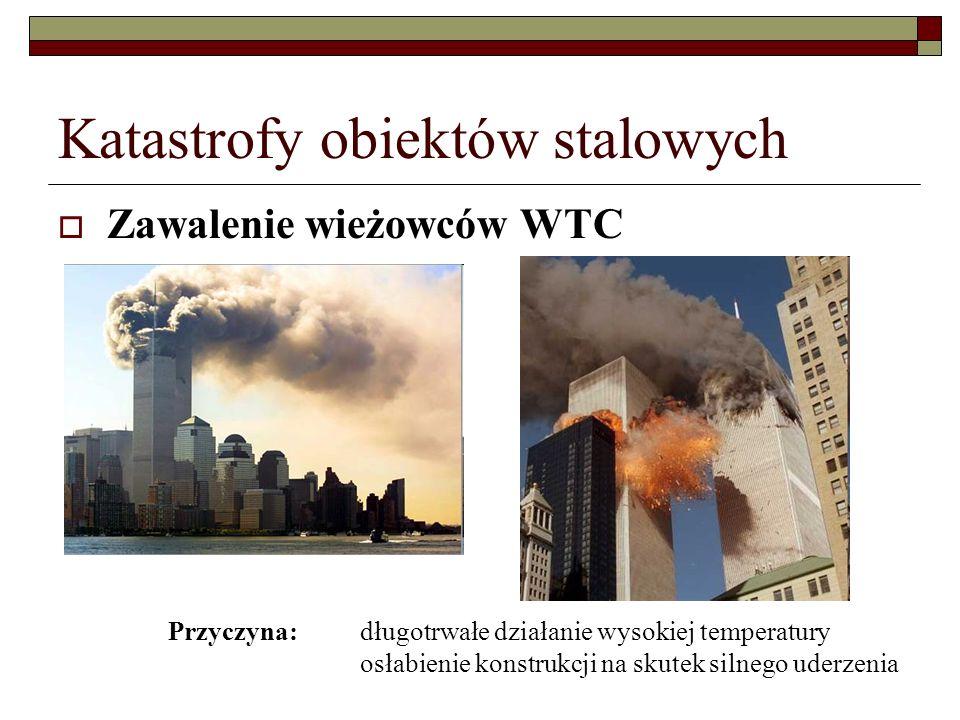 Katastrofy obiektów stalowych