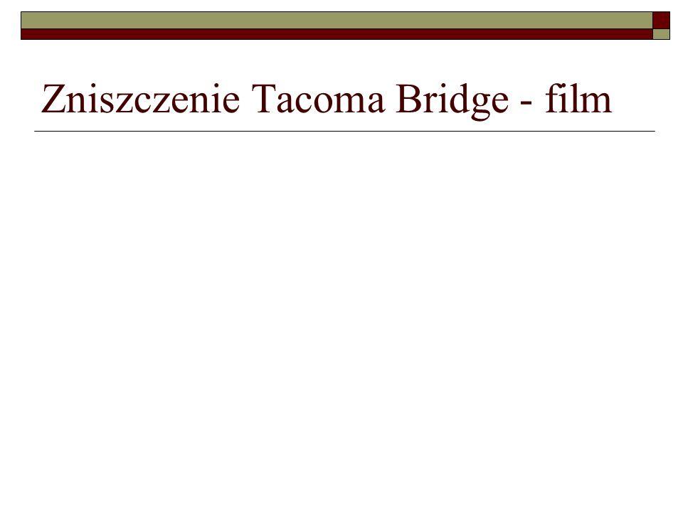 Zniszczenie Tacoma Bridge - film