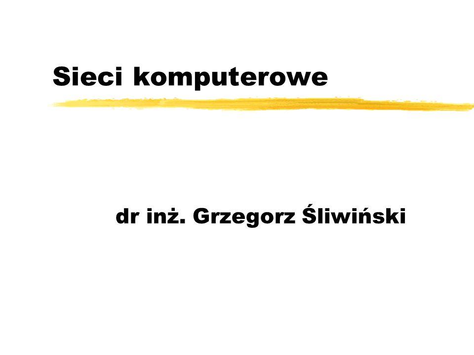 dr inż. Grzegorz Śliwiński