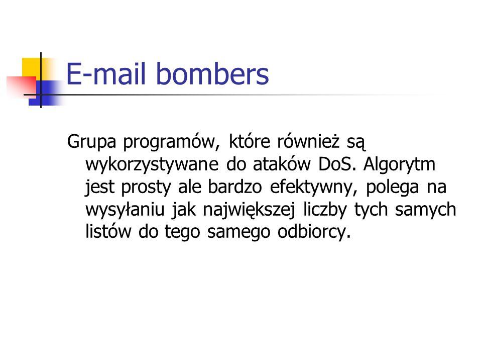 E-mail bombers