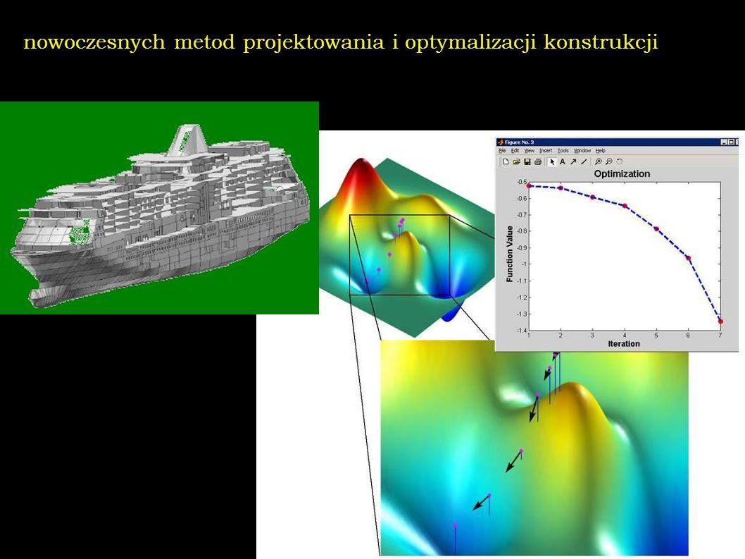 nowoczesnych metod projektowania i optymalizacji konstrukcji