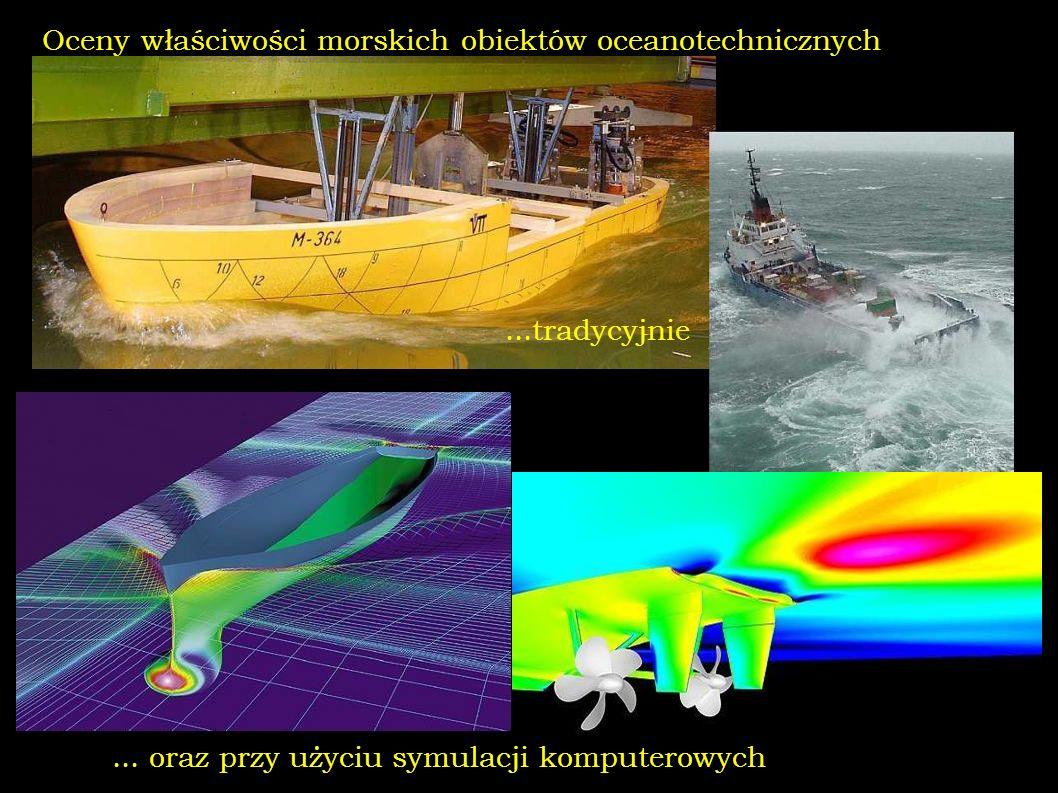 Oceny właściwości morskich obiektów oceanotechnicznych