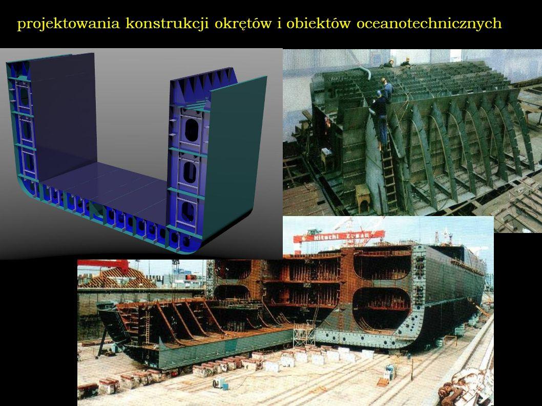 projektowania konstrukcji okrętów i obiektów oceanotechnicznych