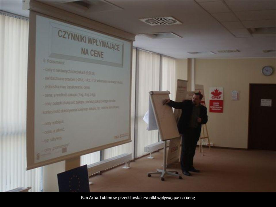 Pan Artur Lubimow przedstawia czynniki wpływające na cenę