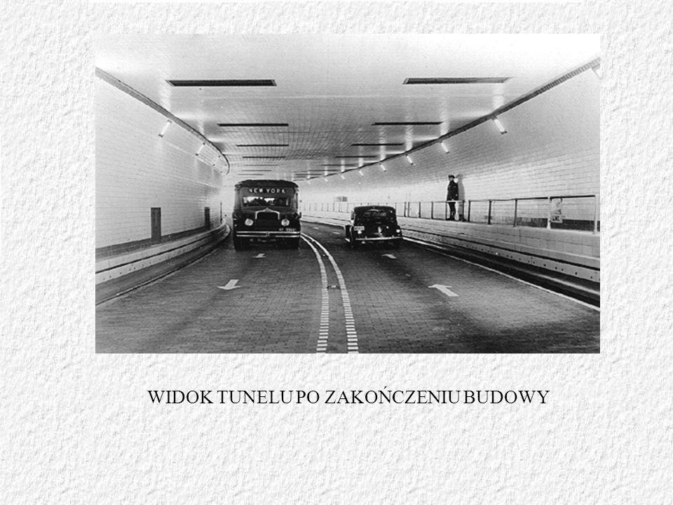 WIDOK TUNELU PO ZAKOŃCZENIU BUDOWY