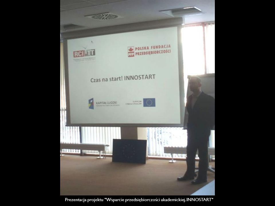 Prezentacja projektu Wsparcie przedsiębiorczości akademickiej