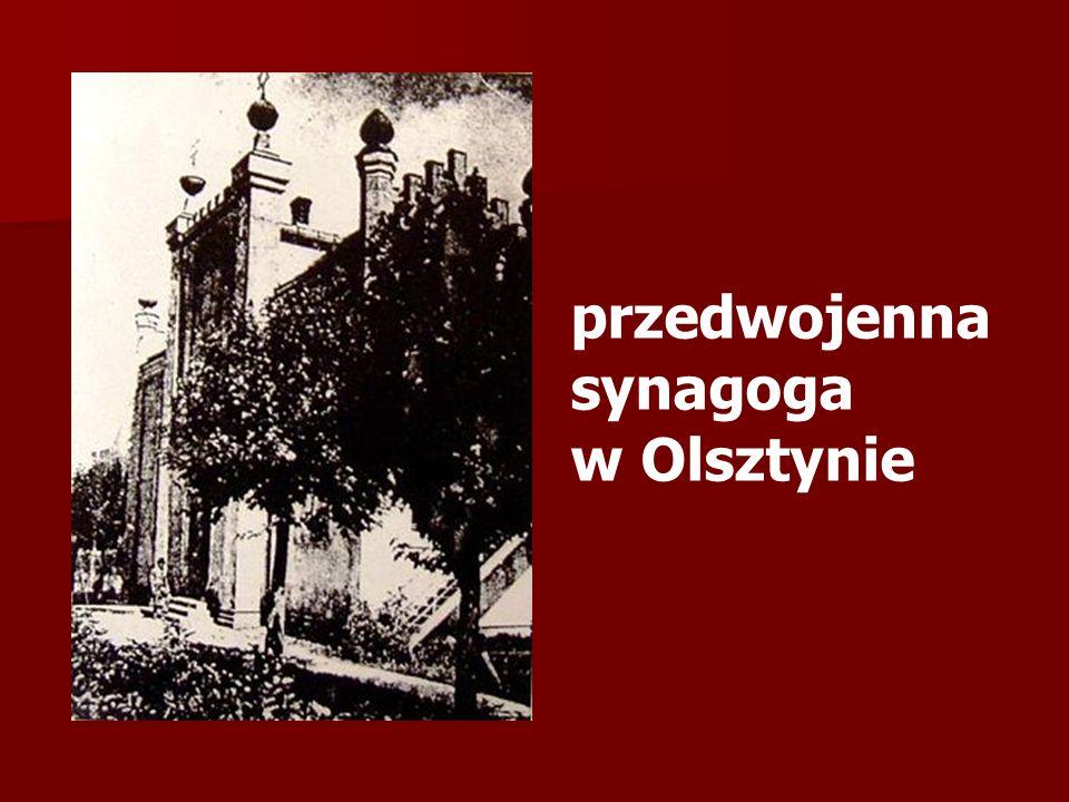 przedwojenna synagoga
