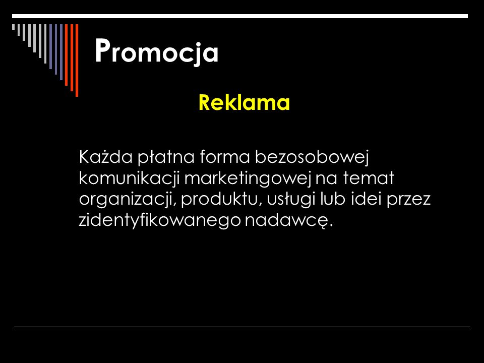 Promocja Reklama.