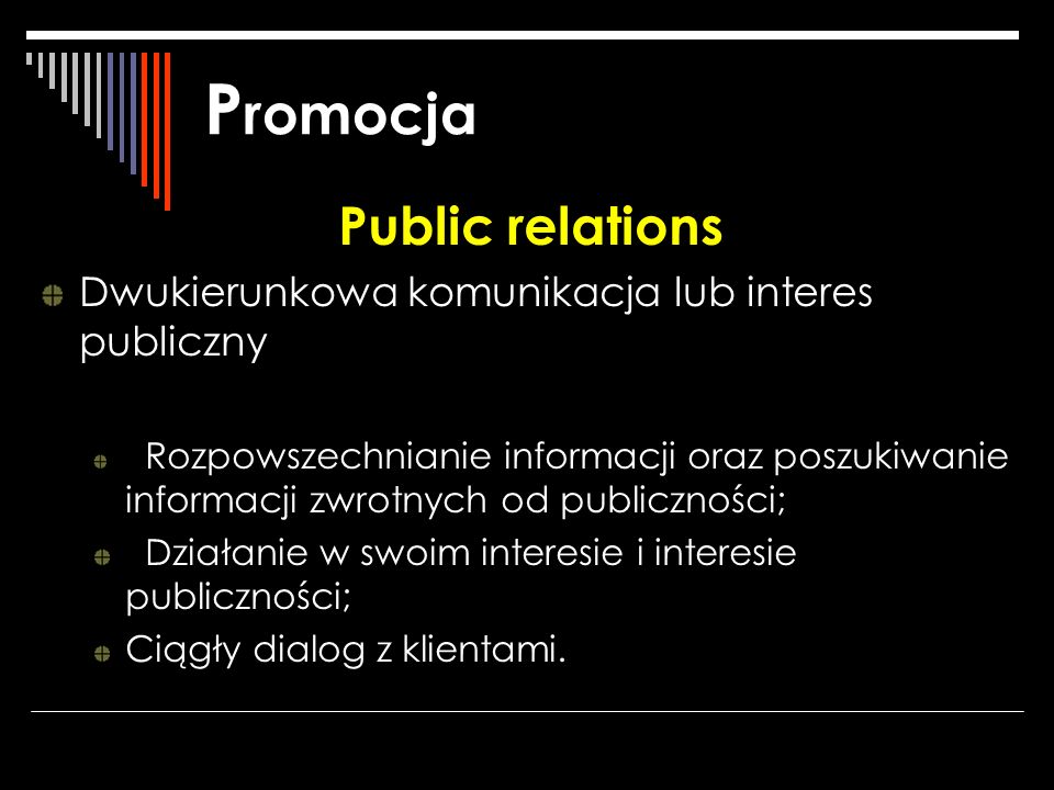 Promocja Public relations