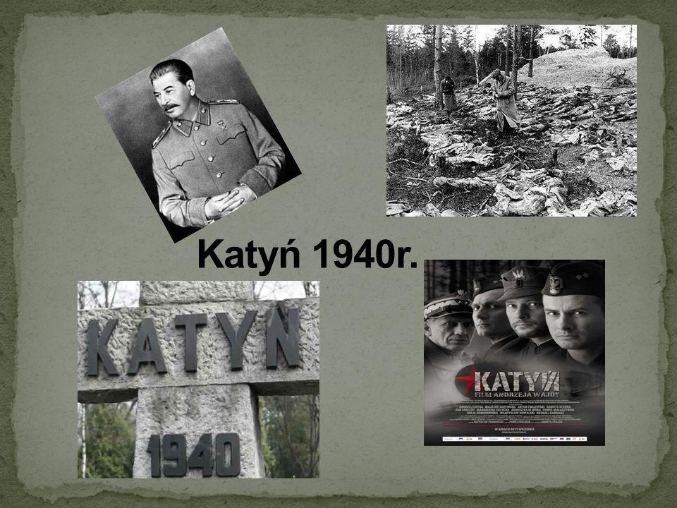 Katyń 1940r.