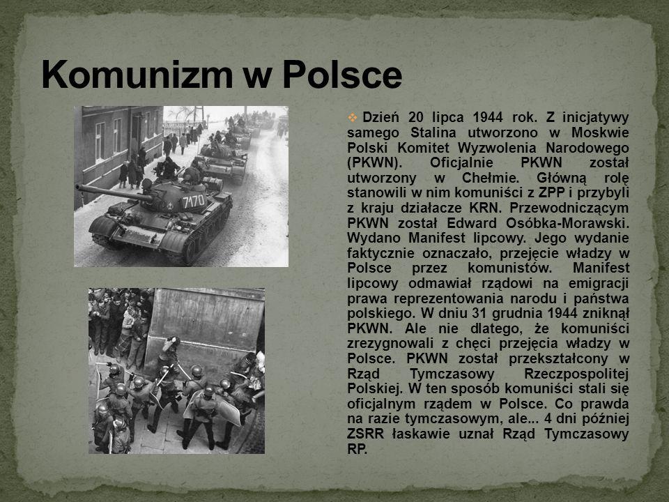 Komunizm w Polsce