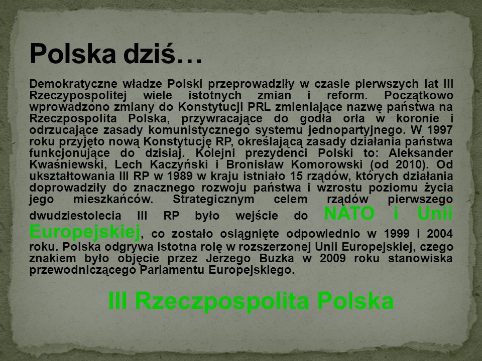 III Rzeczpospolita Polska