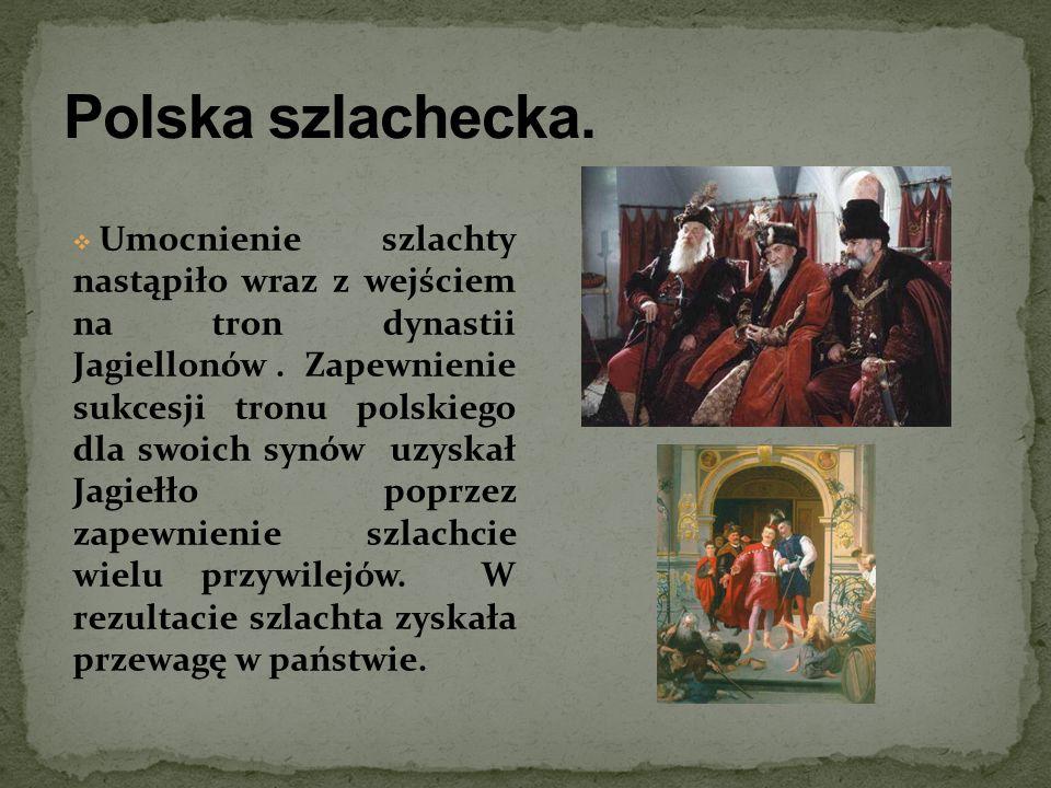 Polska szlachecka.