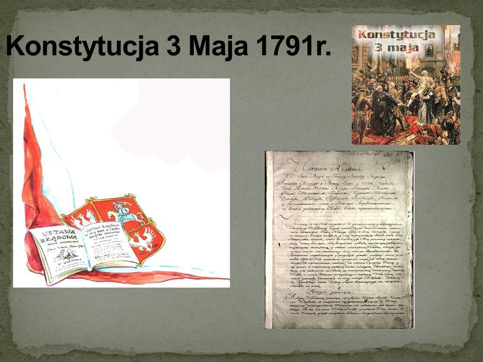 Konstytucja 3 Maja 1791r.