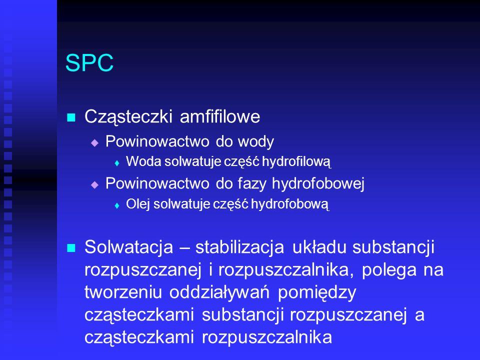SPC Cząsteczki amfifilowe