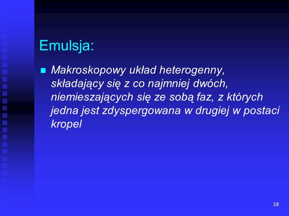 Emulsja: