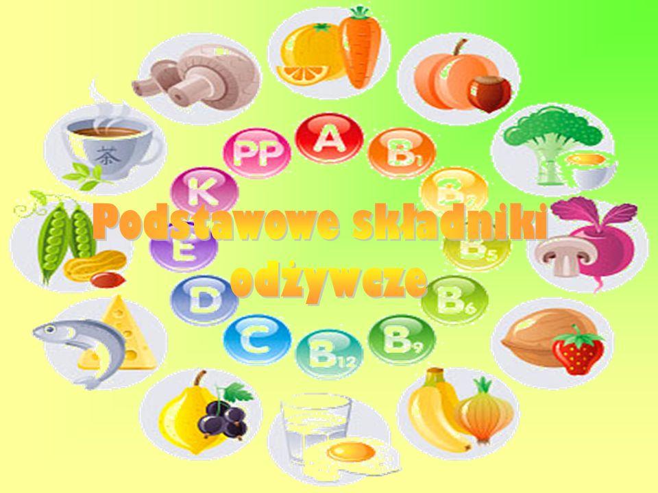 Podstawowe składniki odżywcze