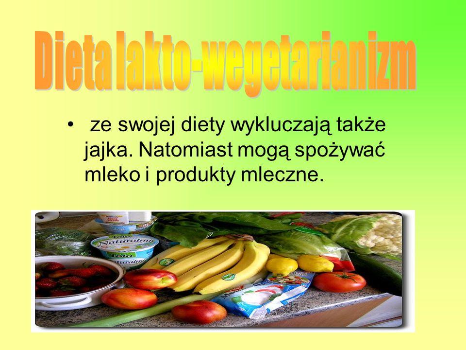 Dieta lakto-wegetarianizm
