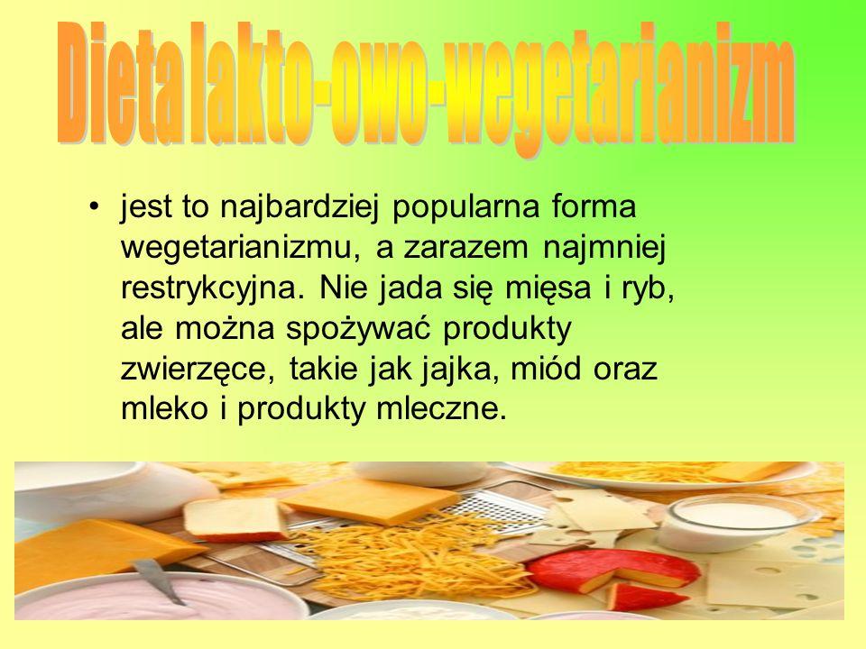 Dieta lakto-owo-wegetarianizm