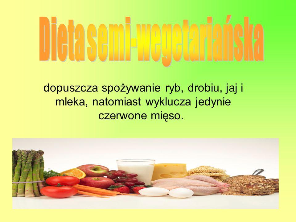Dieta semi-wegetariańska