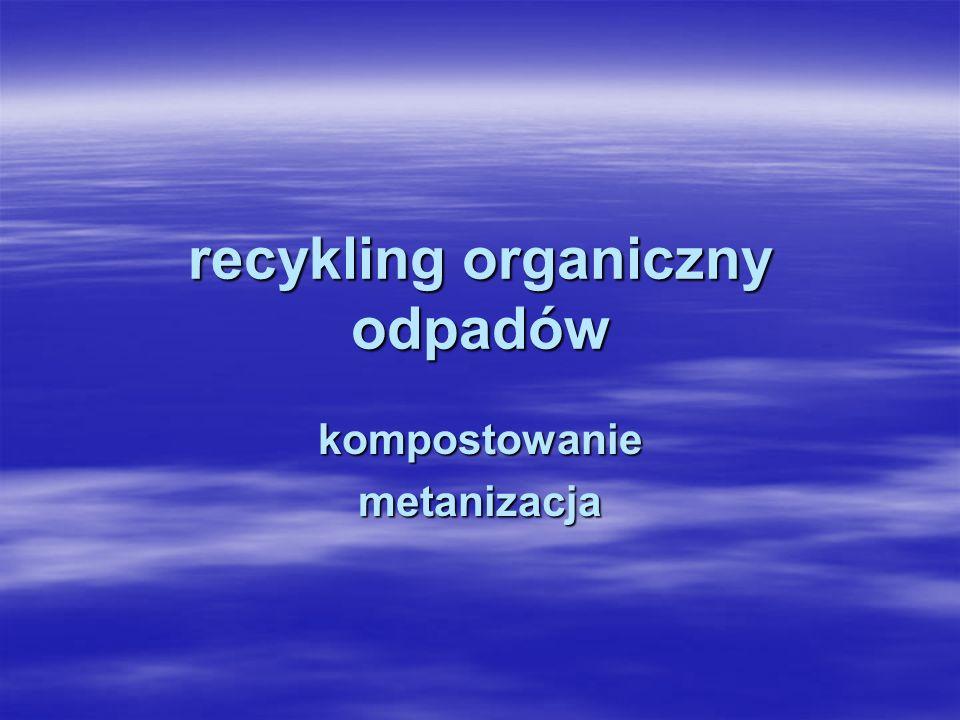 recykling organiczny odpadów