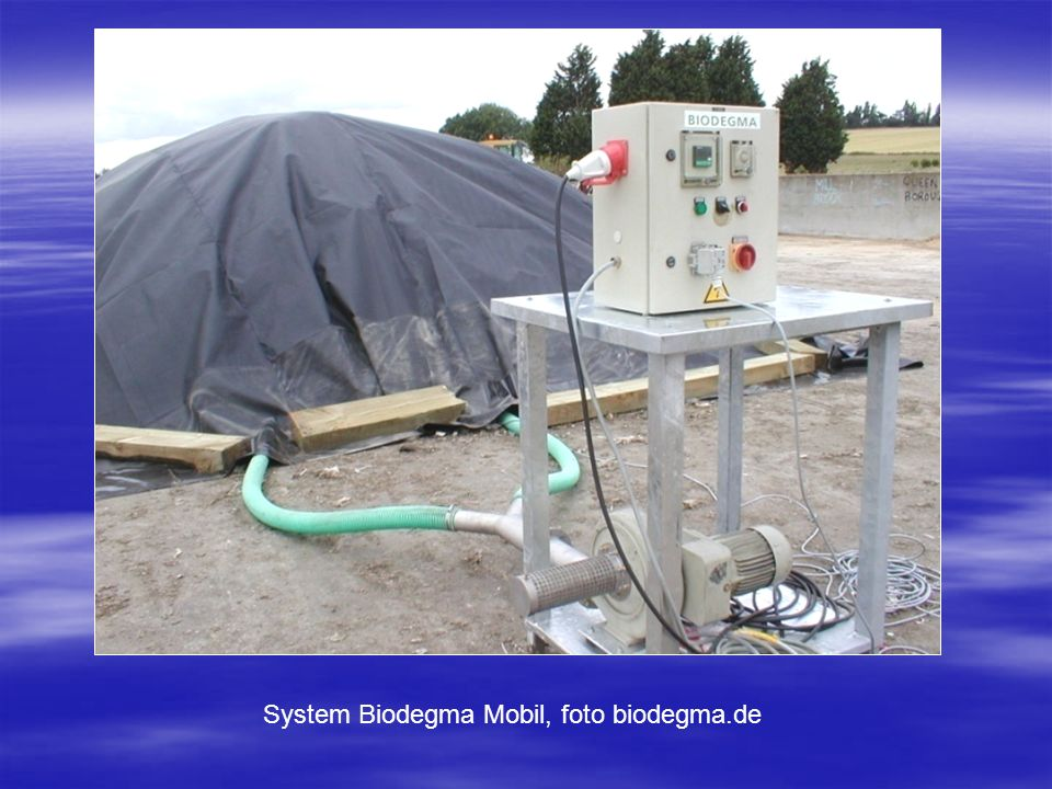 System Biodegma Mobil, foto biodegma.de