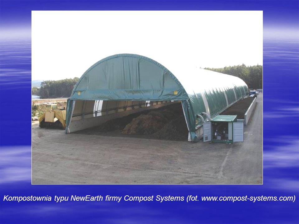 Kompostownia typu NewEarth firmy Compost Systems (fot. www