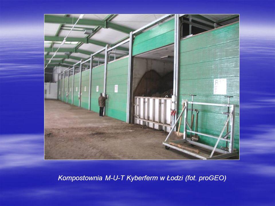 Kompostownia M-U-T Kyberferm w Łodzi (fot. proGEO)