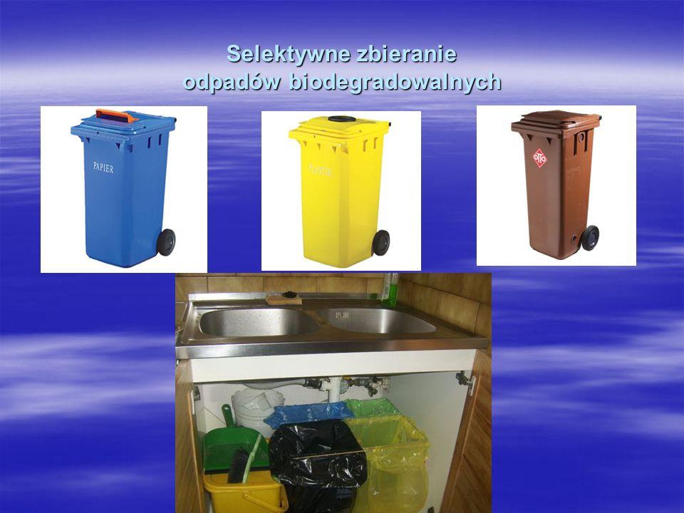 Selektywne zbieranie odpadów biodegradowalnych