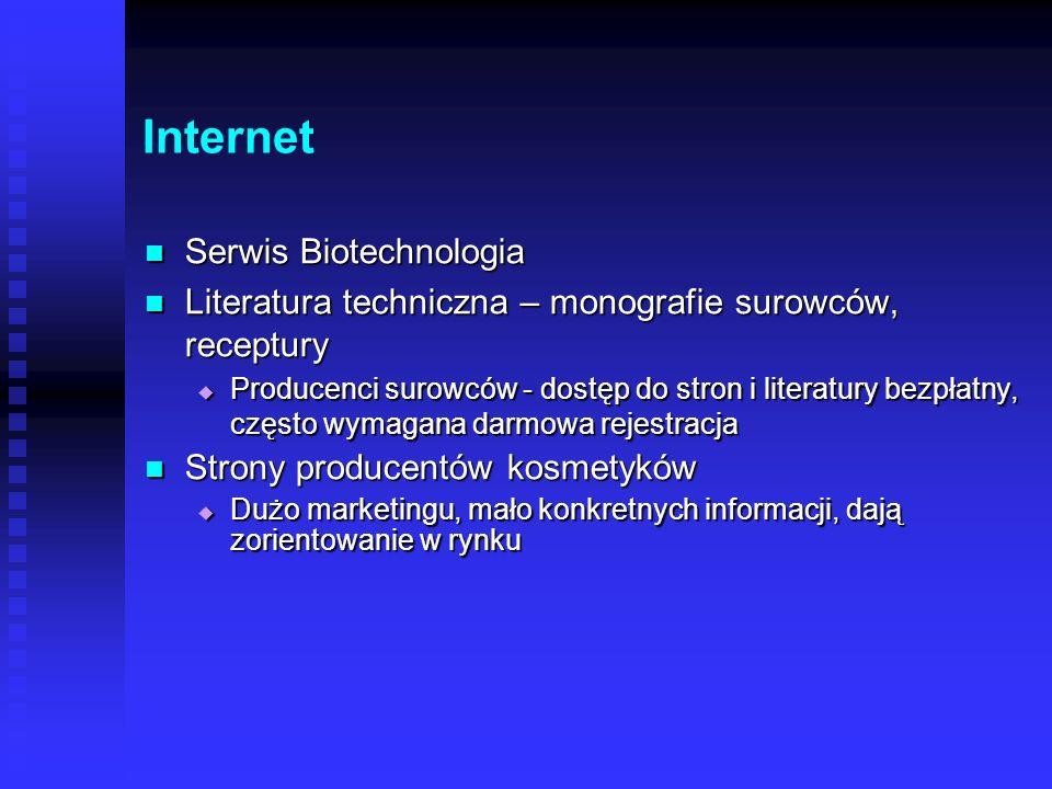 Internet Serwis Biotechnologia