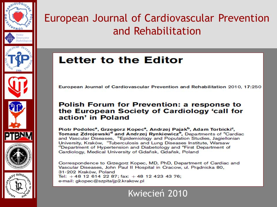 European Journal of Cardiovascular Prevention and Rehabilitation