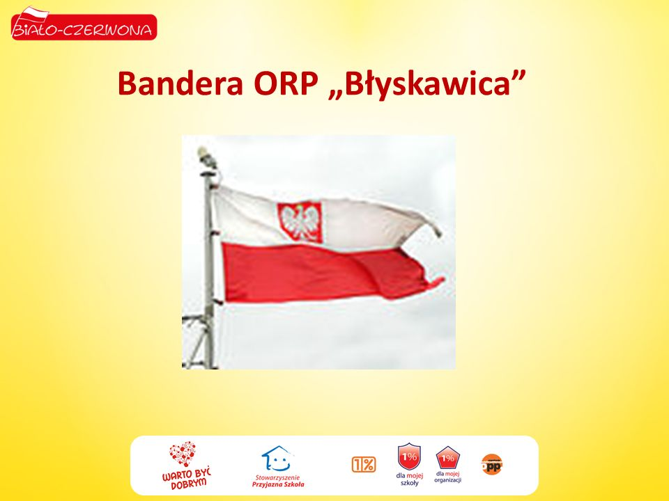 "Bandera ORP ""Błyskawica"