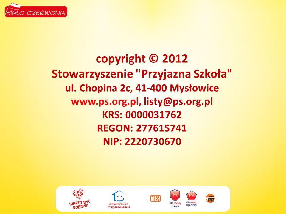 copyright © 2012 Stowarzyszenie Przyjazna Szkoła ul