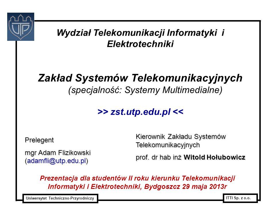 Zakład Systemów Telekomunikacyjnych