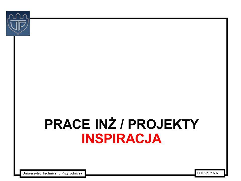 Prace INŻ / Projekty Inspiracja