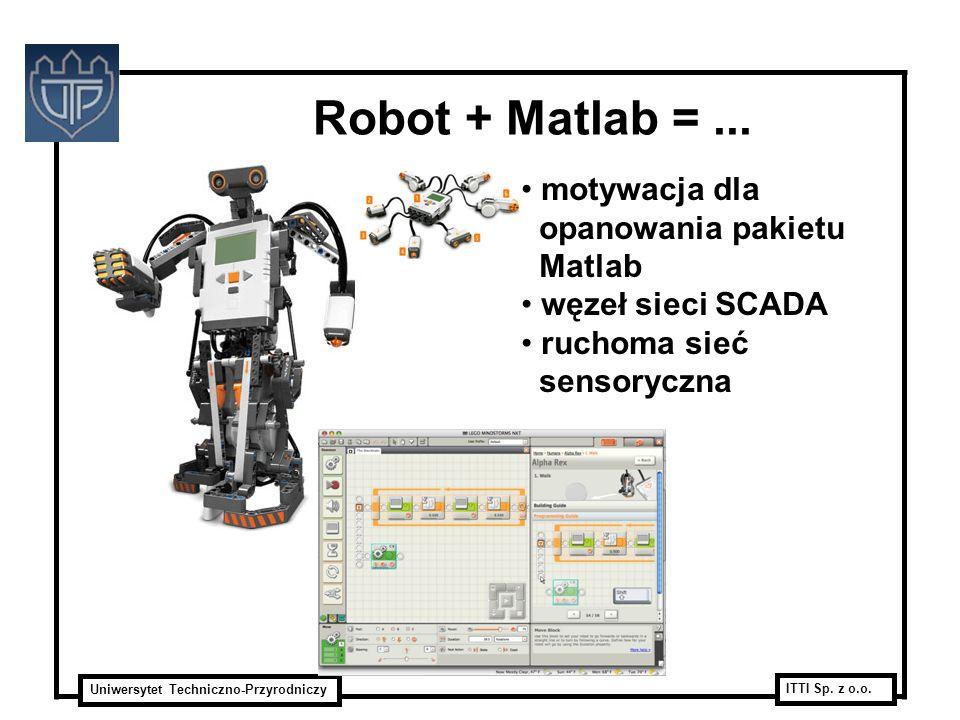 Robot + Matlab = ... motywacja dla opanowania pakietu Matlab