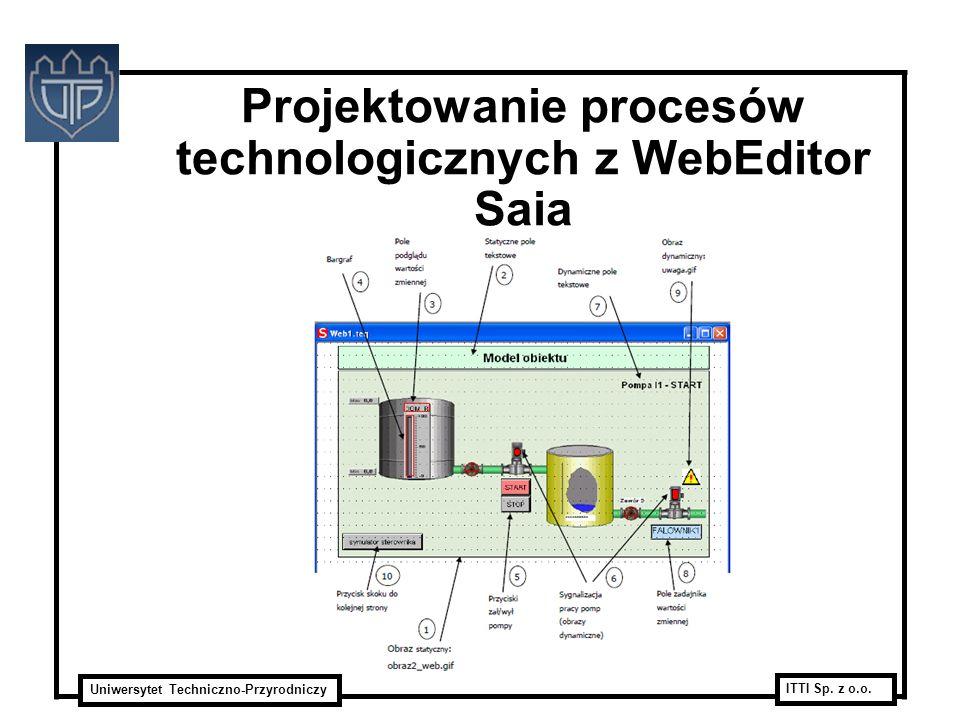 Projektowanie procesów technologicznych z WebEditor Saia