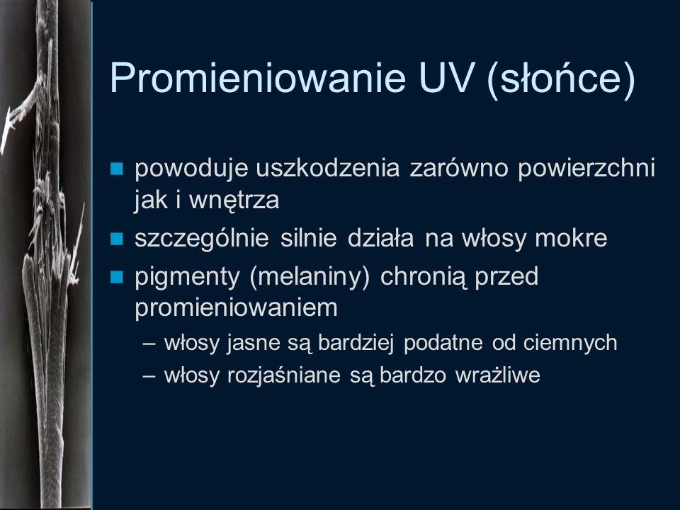 Promieniowanie UV (słońce)