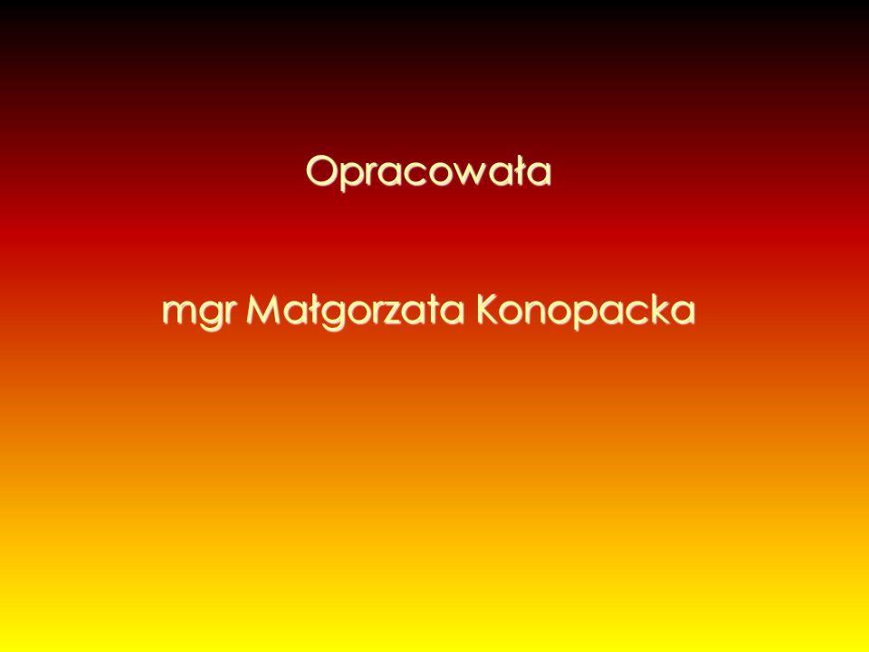 mgr Małgorzata Konopacka
