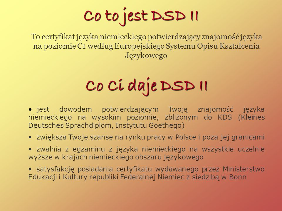 Co to jest DSD II Co Ci daje DSD II