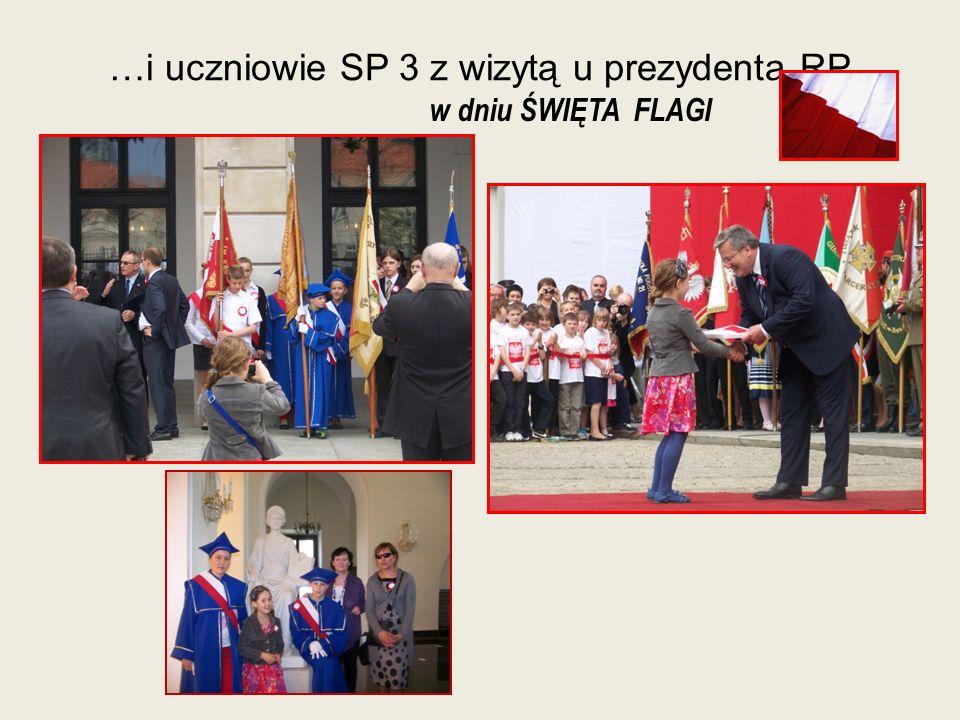…i uczniowie SP 3 z wizytą u prezydenta RP