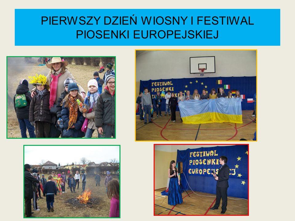 PIERWSZY DZIEŃ WIOSNY I FESTIWAL PIOSENKI EUROPEJSKIEJ