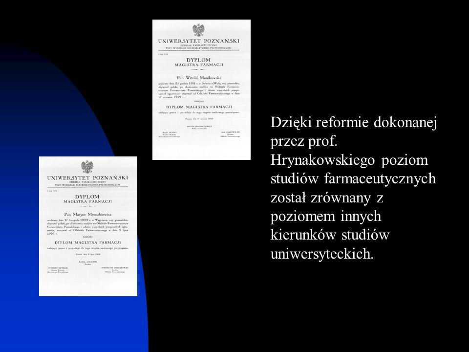 Dzięki reformie dokonanej przez prof