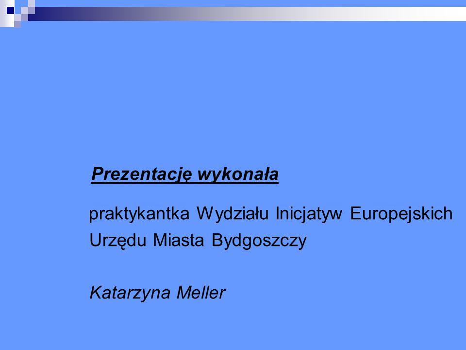 praktykantka Wydziału Inicjatyw Europejskich