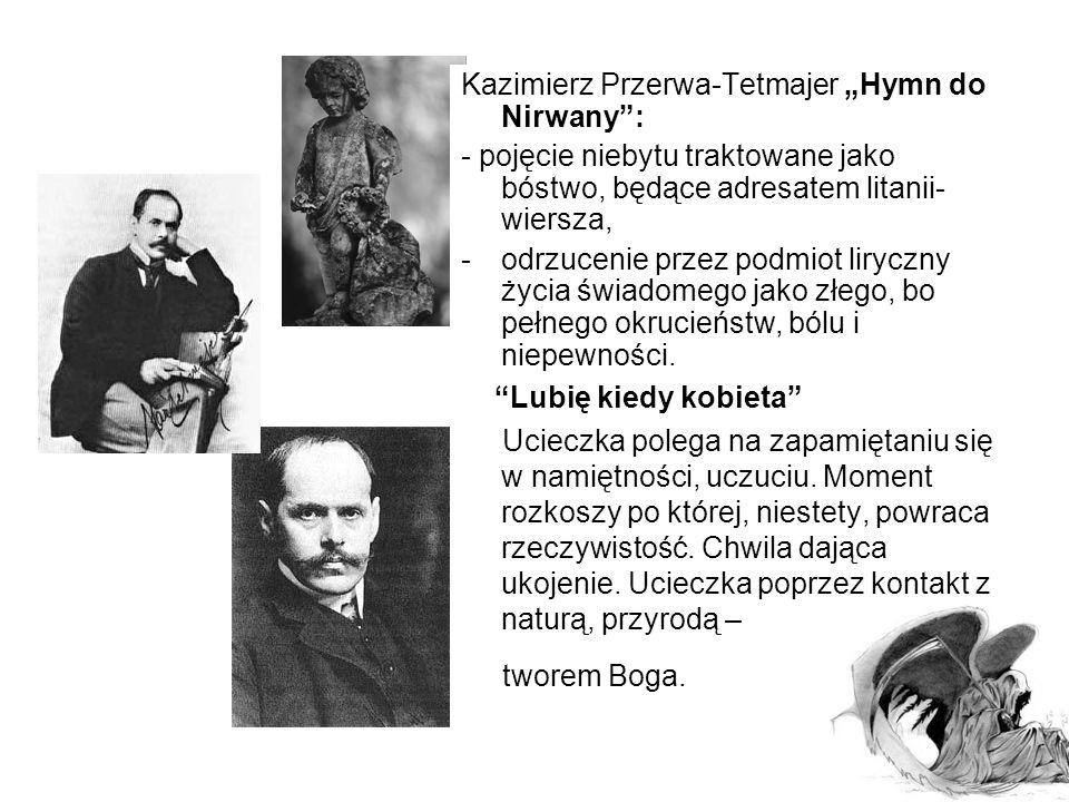 """Kazimierz Przerwa-Tetmajer """"Koniec wieku XIX"""