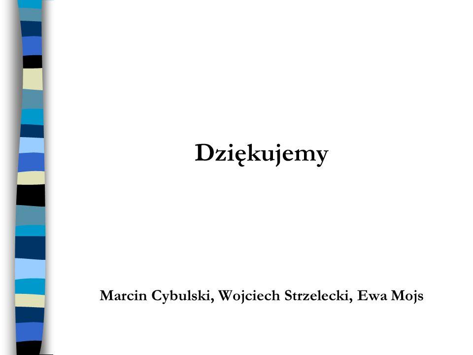 Marcin Cybulski, Wojciech Strzelecki, Ewa Mojs