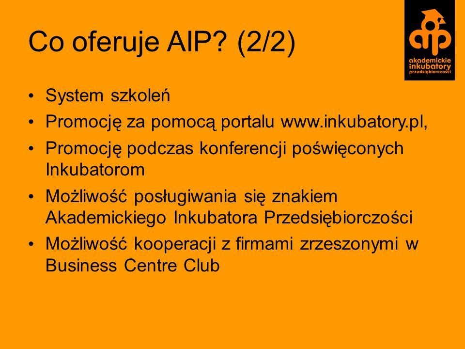 Co oferuje AIP (2/2) System szkoleń